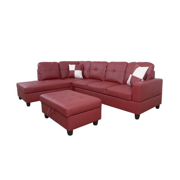 Janice Sectional With Ottoman By Wrought Studio