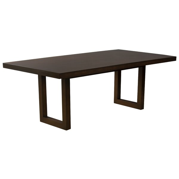 Fusco Maple Straight Edge Solid Wood Dining Table by Brayden Studio Brayden Studio