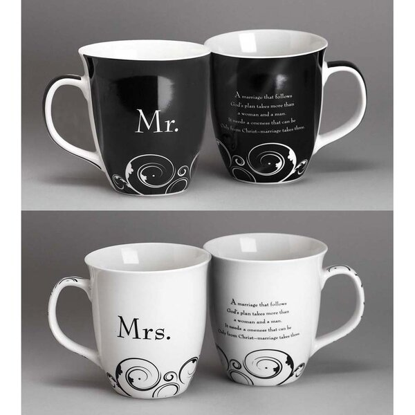 2 Piece 16 oz. Mug Set by Dicksons Inc