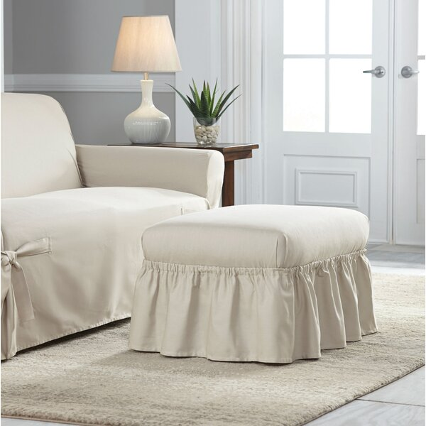Relaxed Fit Duck Furniture Box Cushion 2 Piece Slipcover Set by Red Barrel Studio