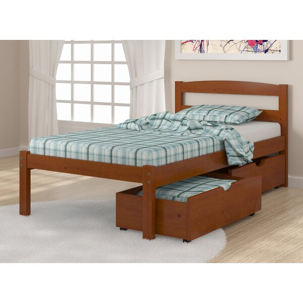 Goddard Platform Bed with Drawers by Harriet Bee
