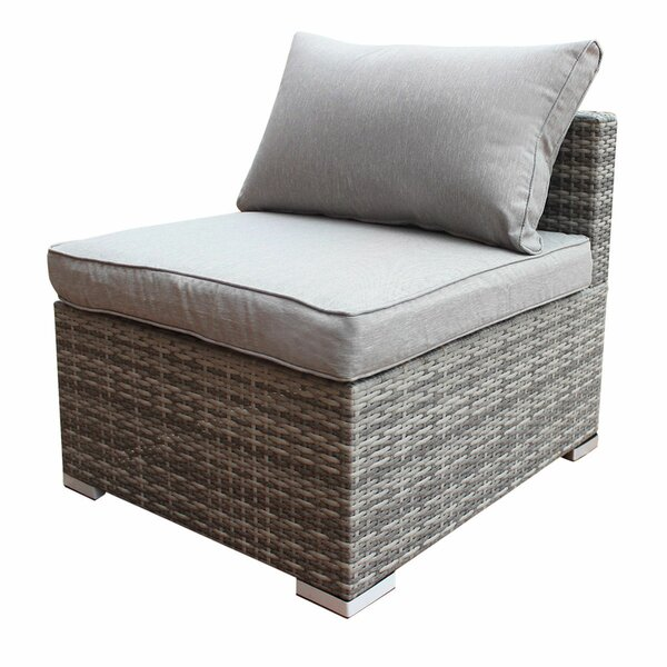 Austen Patio Chair with Cushions by Orren Ellis Orren Ellis