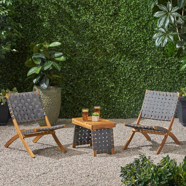 Gertrud 3 Piece Seating Group by Red Barrel Studio