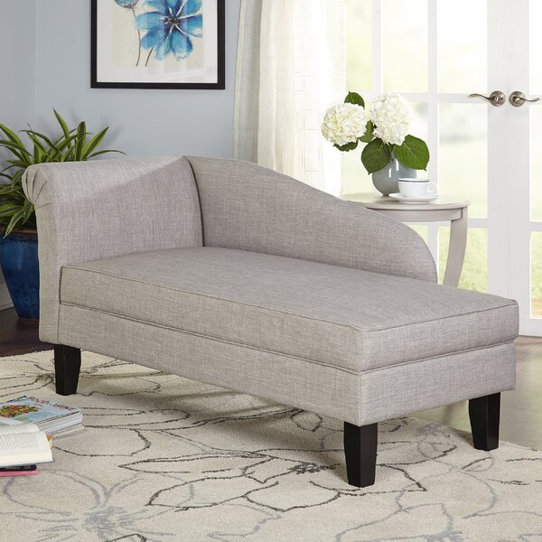 Middletown Chaise Lounge by Three Posts