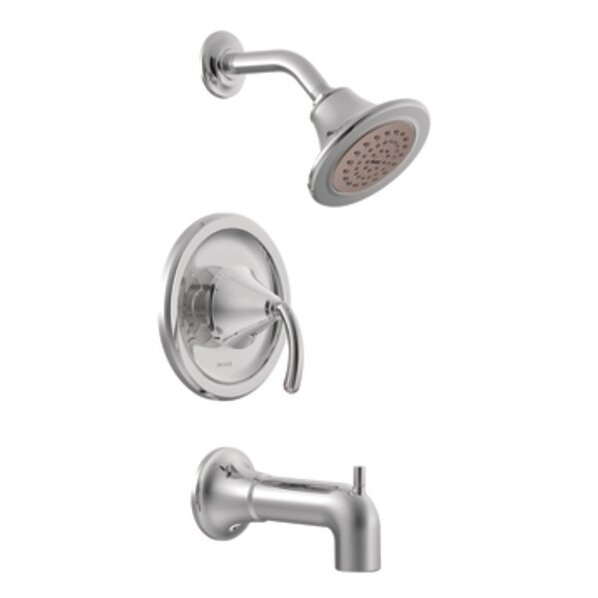 Icon Posi-Temp Pressure Balance Tub and Shower Faucet with Lever Handle by Moen