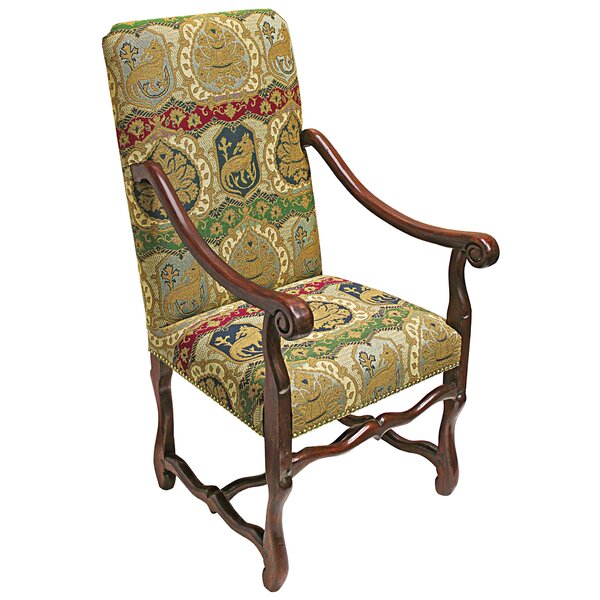 Chateau DuMonde Coat Arm Chair by Design Toscano Design Toscano