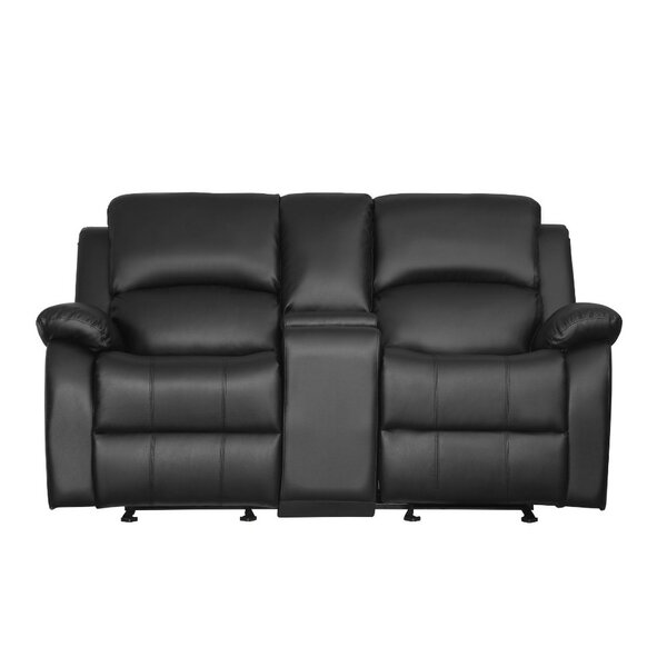 Tangier Double Seater Reclining Loveseat by Winston Porter