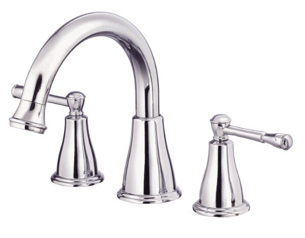 Eastham Double Handle Deck Mount Roman Tub Faucet by Danze®