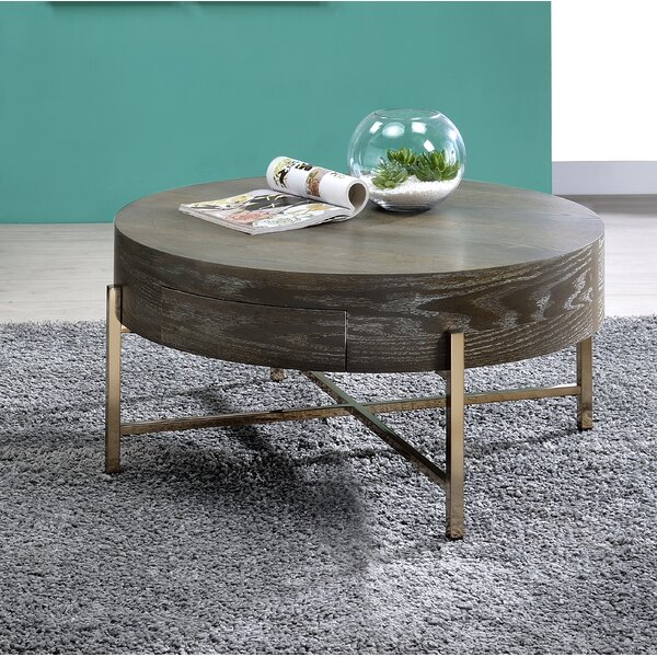 Yuliya Coffee Table With Storage By Everly Quinn