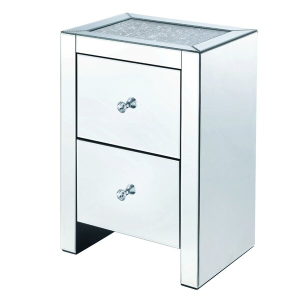 Toomer 2 Drawer Nightstand by Rosdorf Park