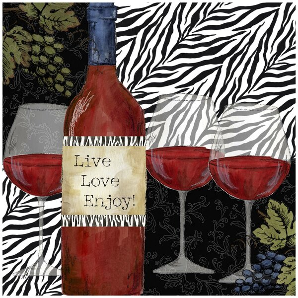 Zebra Wine Occasions Trivet by Thirstystone