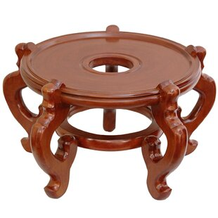 Shop for Reddish Honey Wood Fishbowl Stand By World Menagerie