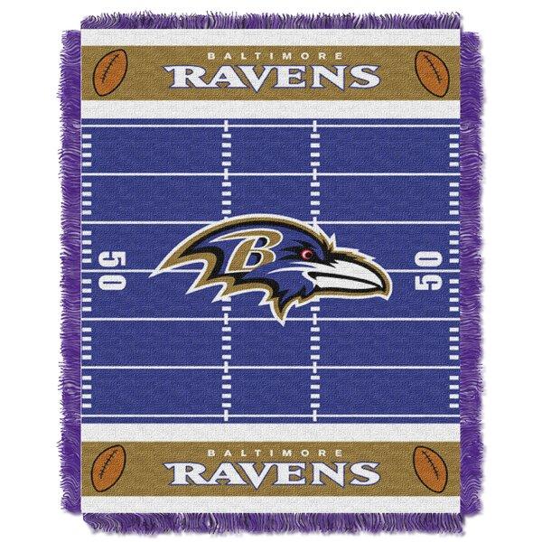 NFL Ravens Field Baby Blanket by Northwest Co.
