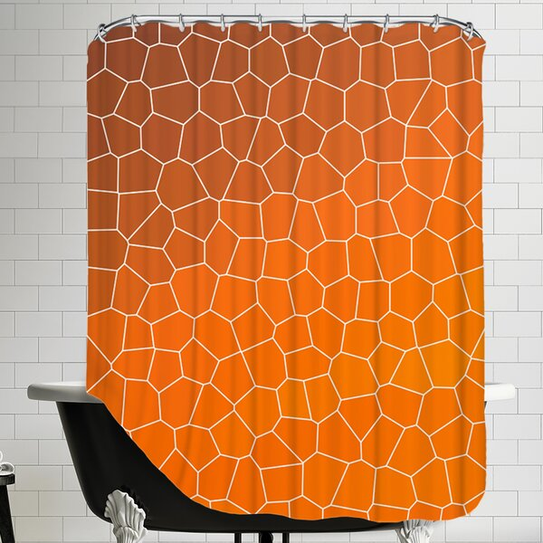 Mosaic Shower Curtain by East Urban Home