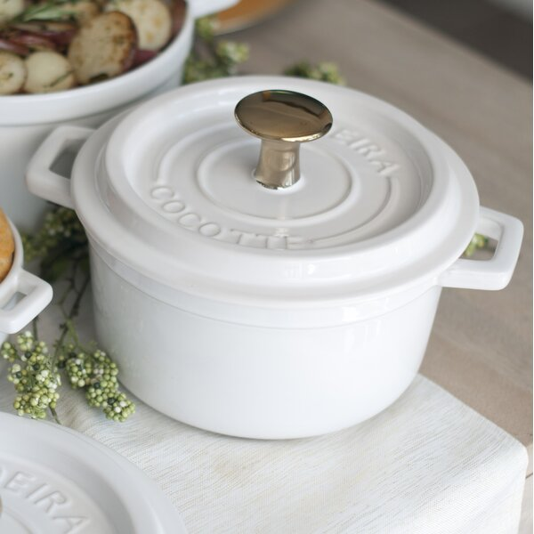 Round Ceramic Cocotte and Baker Dish by Madeira
