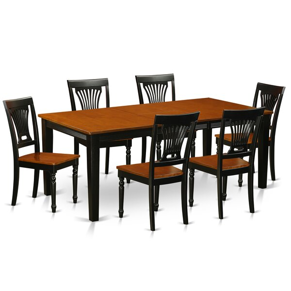 Loraine 7 Piece Dining Set by Red Barrel Studio