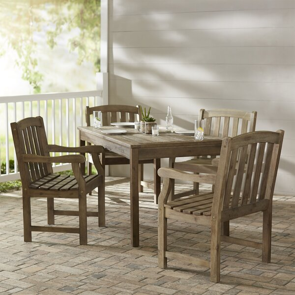 Densmore 5 Piece Dining Set by Darby Home Co