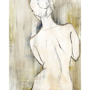 'Figurative II' Painting Print on Wrapped Canvas by Ivy Bronx