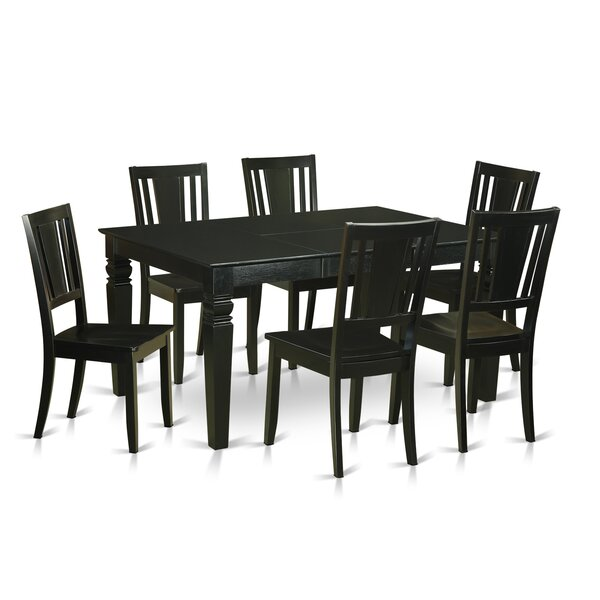 Stupendous Weston 7 Piece Dining Set By Wooden Importers Modern Home Interior And Landscaping Ologienasavecom