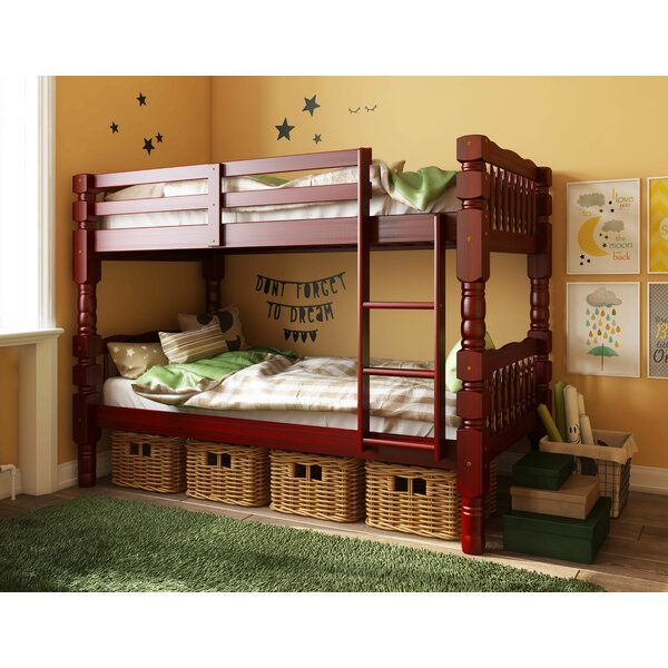 Genaro Twin Over Twin Bunk Bed by Harriet Bee