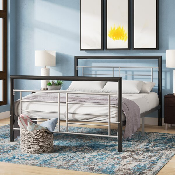 Caudillo Platform Bed by Wrought Studio