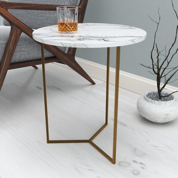 Deana End Table by Everly Quinn