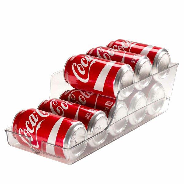 Soda Can Holder Refrigerator and Freezer Fridge Bin by Rebrilliant