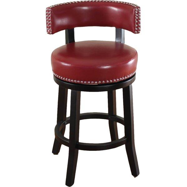 Cyril 26 Swivel Bar Stool by Alcott Hill