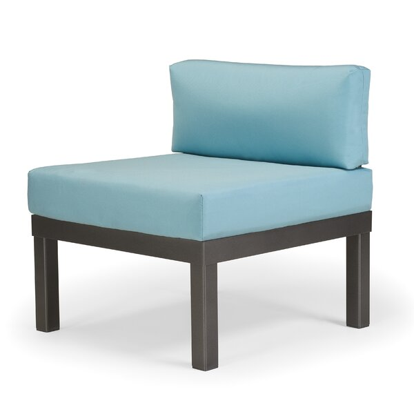 Ashbee Sectional Armless Patio Chair with Cushions by Telescope Casual