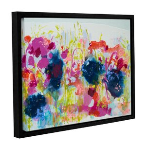 'July Heat' Framed Painting Print by Zipcode Design