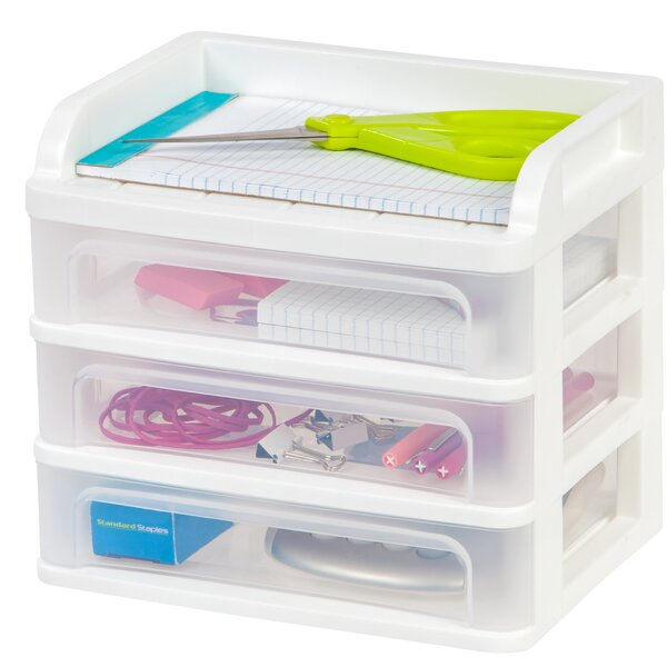 Desktop Drawer System (Set of 4) by IRIS USA, Inc.