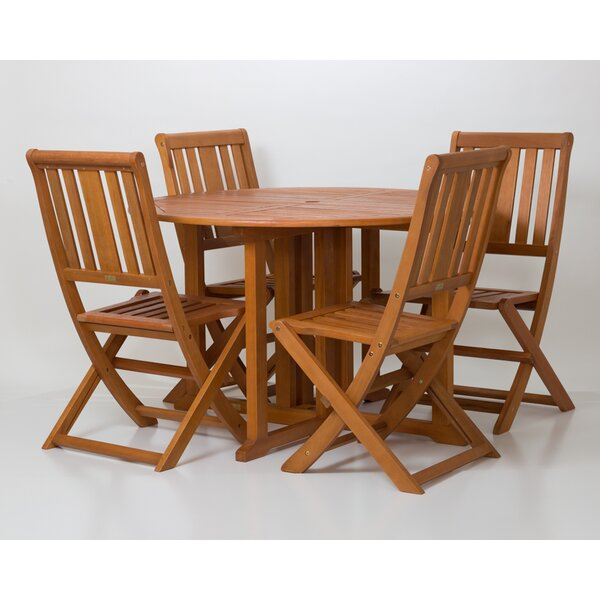 Eppler 5 Piece Dining Set by Millwood Pines