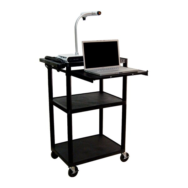 LP Carts Presentation Station AV Cart by Luxor