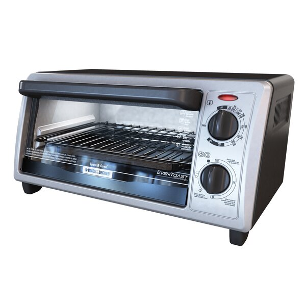 4 Slice Toaster Oven by Black + Decker