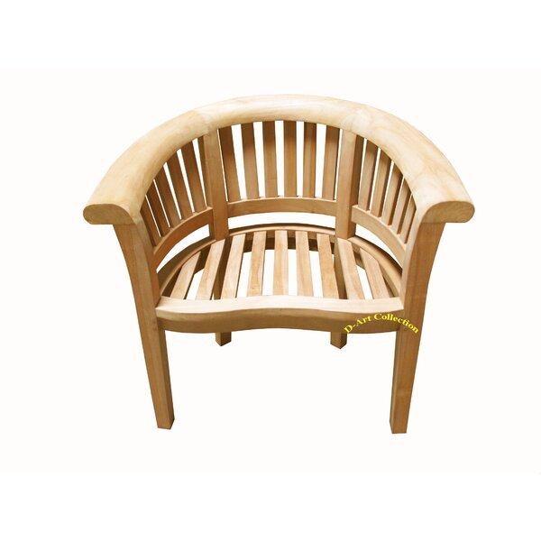Wunder Teak Patio Chair by Highland Dunes