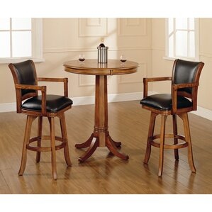 Coello 3 Piece Pub Table Set by Darby Home Co