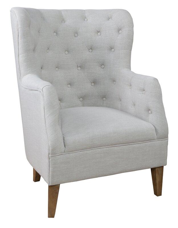 Eli Tufted Arm Chair