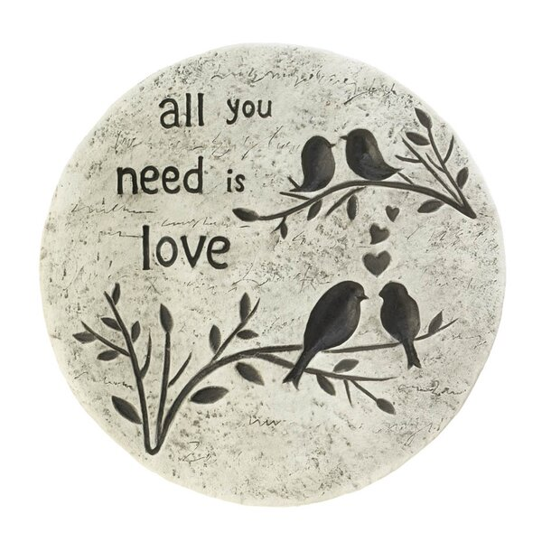 All You Need Is Love Stepping Stone by Zingz & Thingz