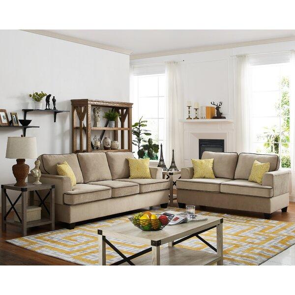 Stecker 2 Piece Living Room Set by Ebern Designs Ebern Designs