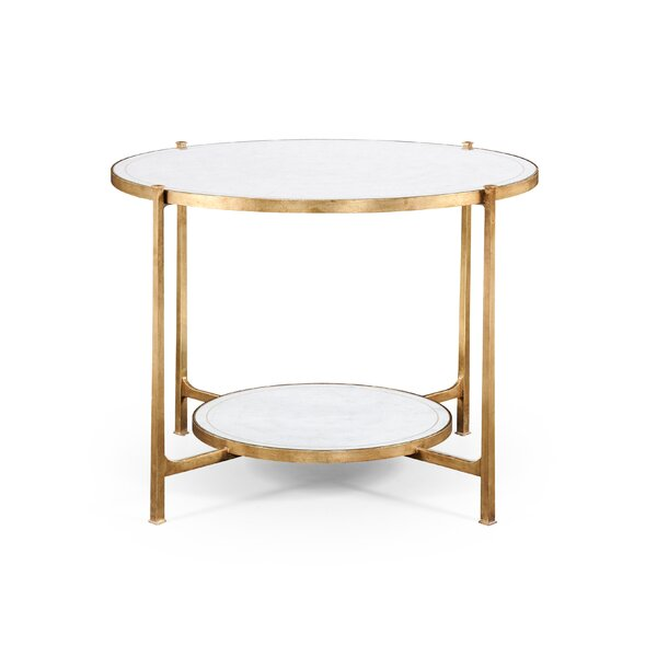 Transitional Center Dining Table by Jonathan Charles Fine Furniture