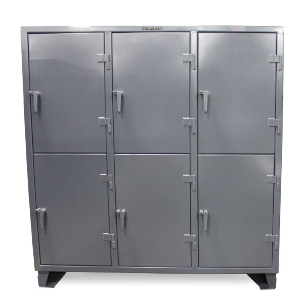 2 Tier 3 Wide Storage Locker by Strong Hold Products