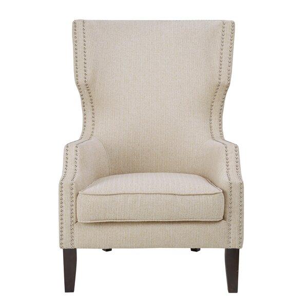 Welwyn Wingback Chair by Alcott Hill