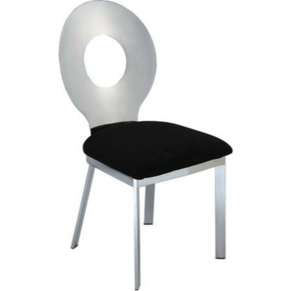 Kesha Metal Dining Chair (Set of 2) by Everly Quinn