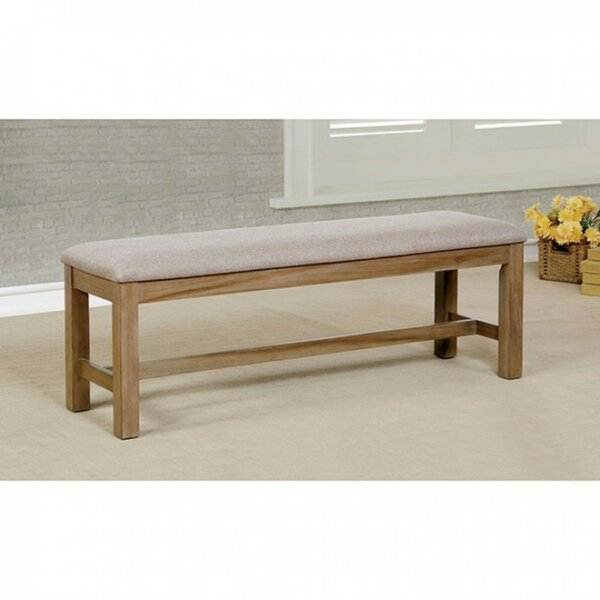 Petrosky Wooden Wood Bench by Union Rustic