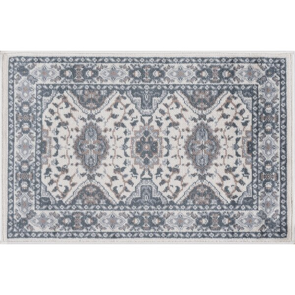 Dolphus Oriental Scatter Cream Area Rug by Darby Home Co