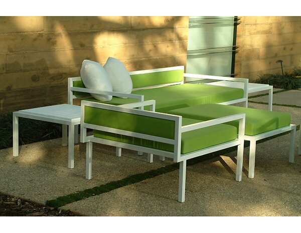 Talt 5 Piece Sofa Seating Group with Cushions by Modern Outdoor