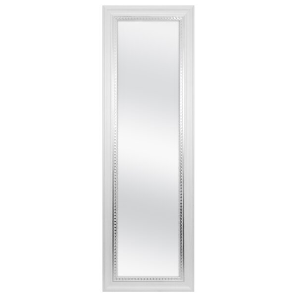 Farmhouse Over Door Woodgrain Full Length Wall Mirror by MCS Industries