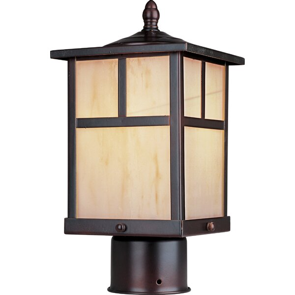 Bo 1 Light Small Outdoor Post Lantern by Loon Peak