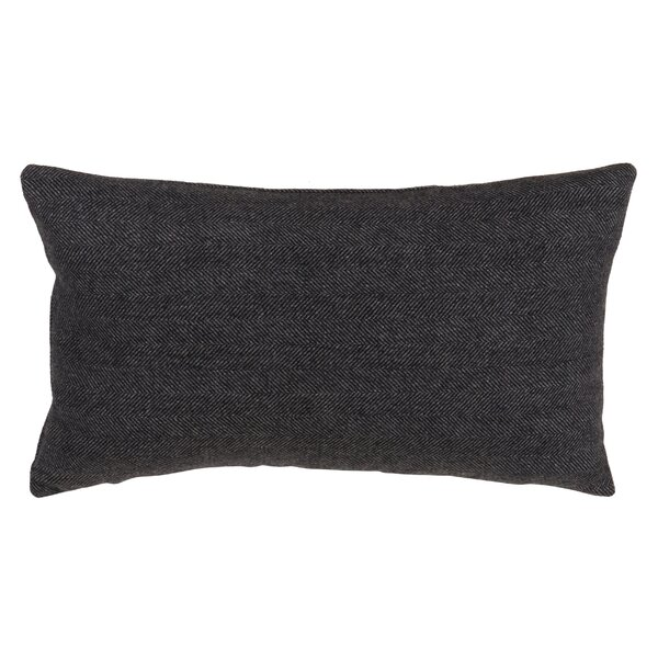 Halesworth Tweed Design Lumbar Pillow by Williston Forge