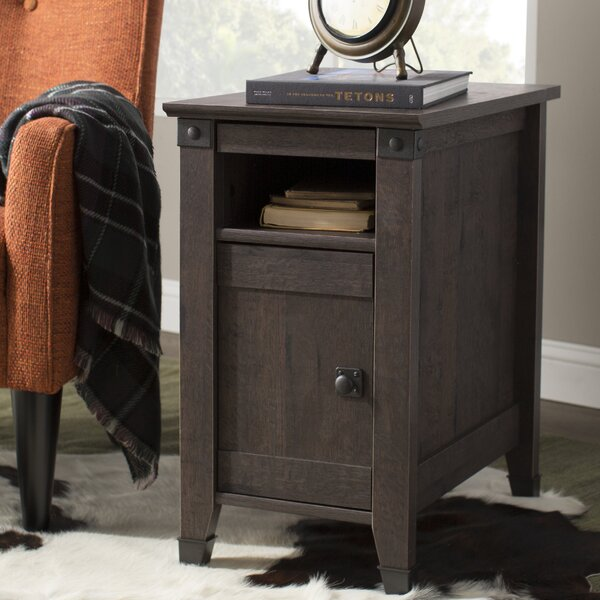 Ellicott Mills End Table With Storage by Andover M